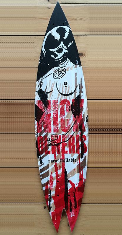 Nick Oliveri Longboard